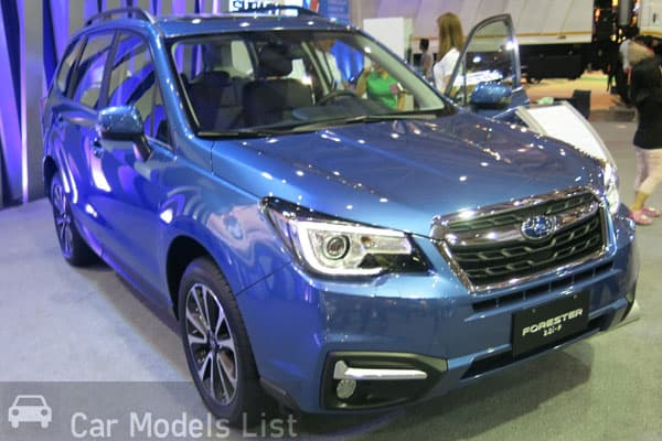 Subaru Forester Side View