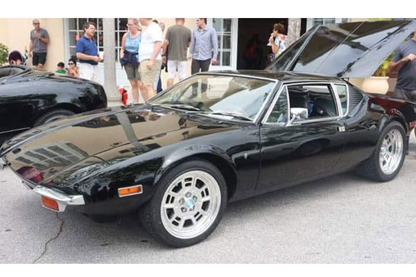 black-shiny-car
