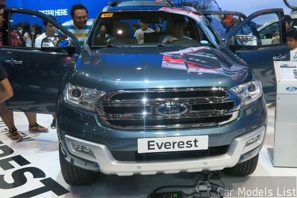 Ford Everest Car Model
