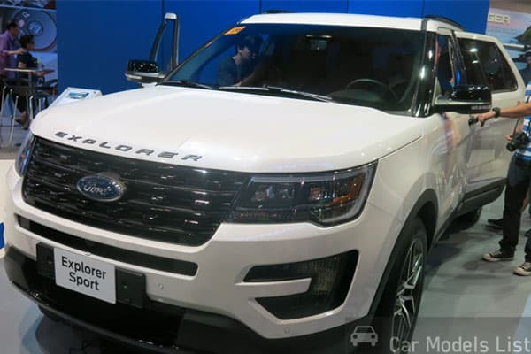 Ford Explorer Car Model