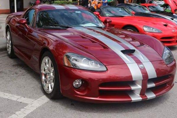 red-racing-car
