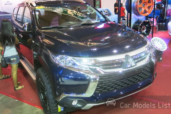 The All New 2016 Mitsubishi Montero Sport