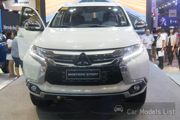 The All New Mitsubishi Montero Sport Car Model