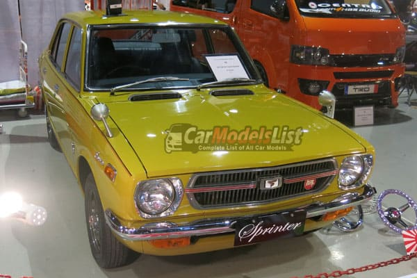 1972 ke 20 Toyota sprinter