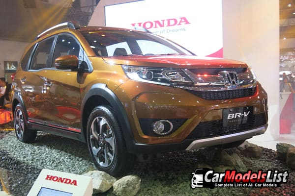 Honda BR-V crossover model from PIMS2016