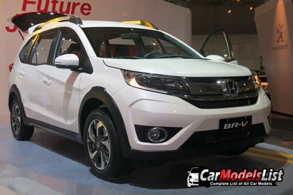 Honda BR-V white car model