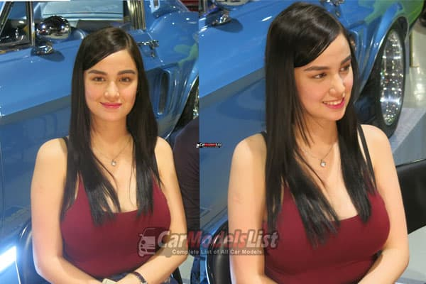 Kim Domingo on 25th Trans Sport Show