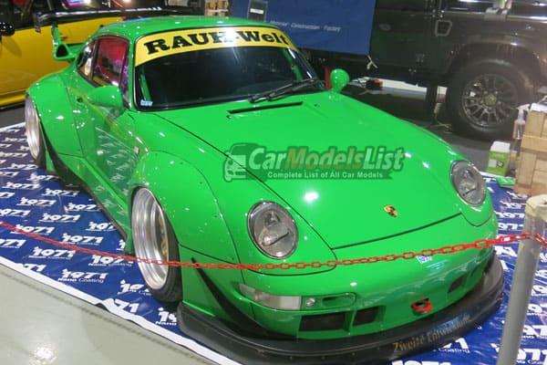 Porsche Car Model