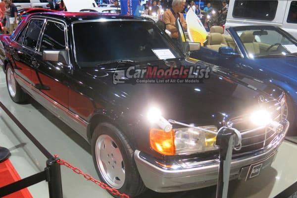 Vintage Mercedes Benz car model