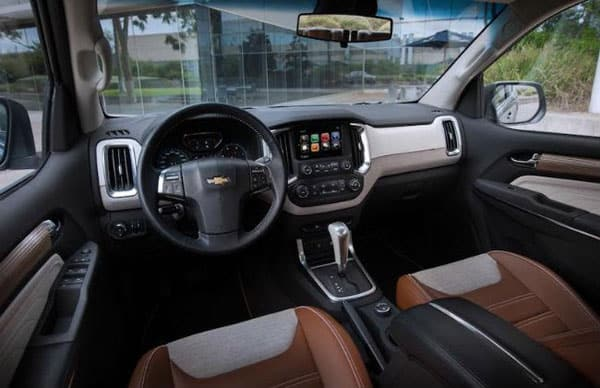Chevy Trailblazer cabin