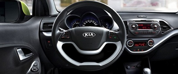 kia picanto steering wheel