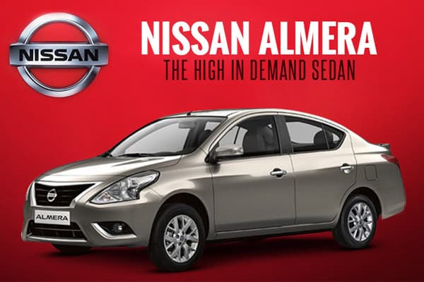 Nissan Almera The High In Demand Sedan
