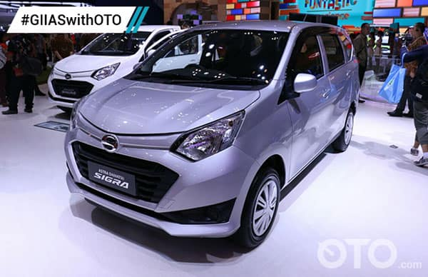 Daihatsu Sigra Car Model