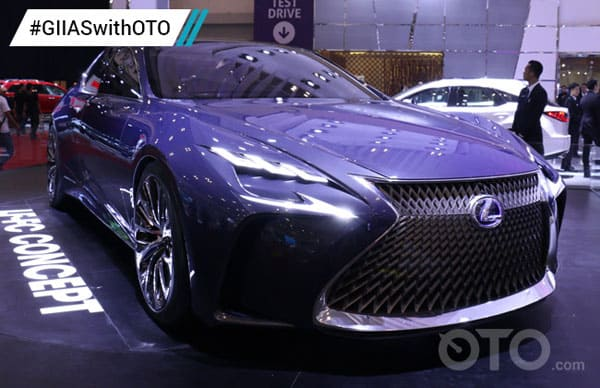 Lexus LFLC Car Model