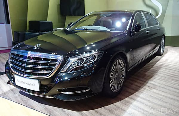 Mercedes Maybach Car Model