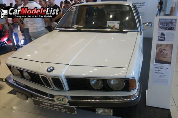 BMW 7-Series vintage model