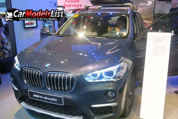 BMW X1 Xdrive20d car model