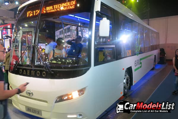 Daewoo Bus BS120 S bus model