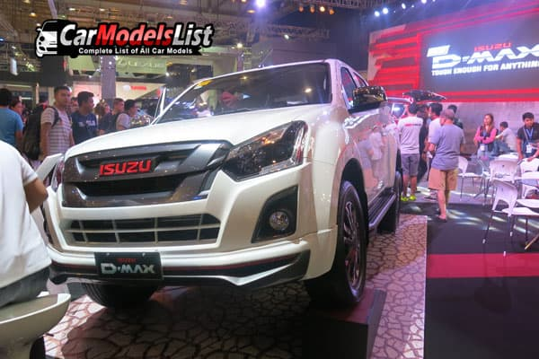 isuzu D-max car model