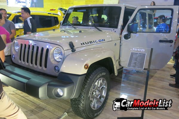 Jeep Wrangler Rubicon Car Model