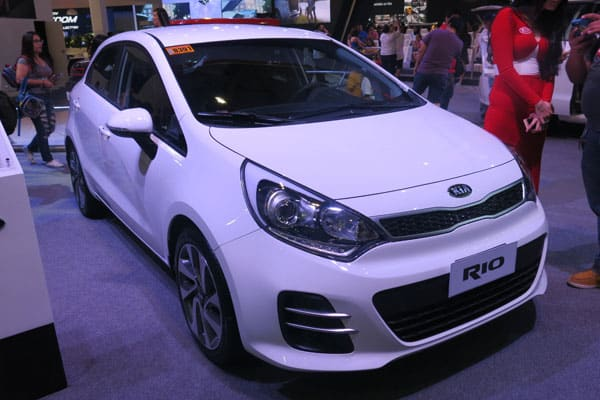 Kia Rio car model