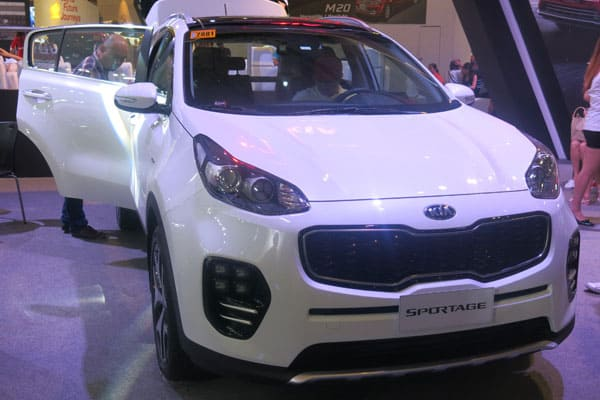 Kia Sportage car model