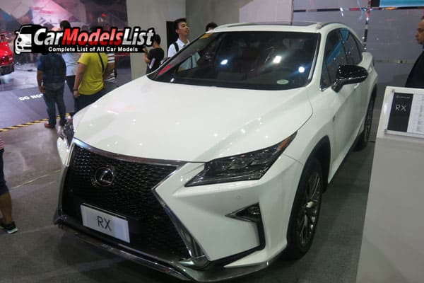 Lexus RX car model