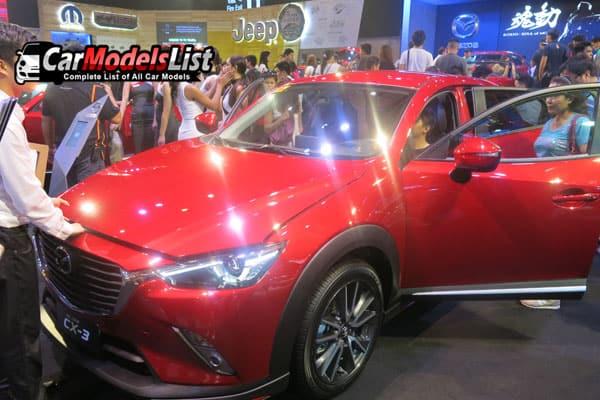 Mazda CX-3 car model