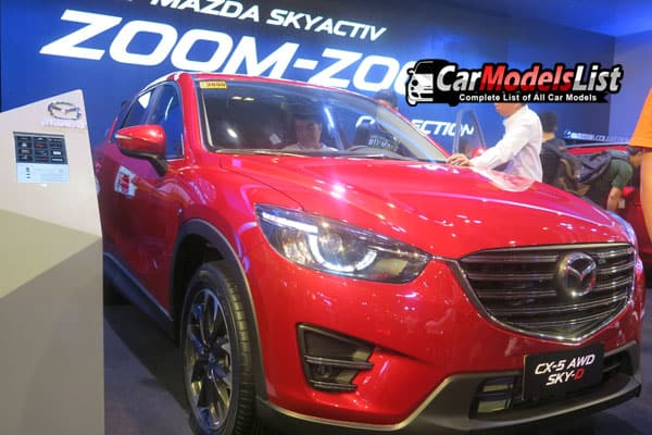 Mazda CX-5 AWD Skyactive car model