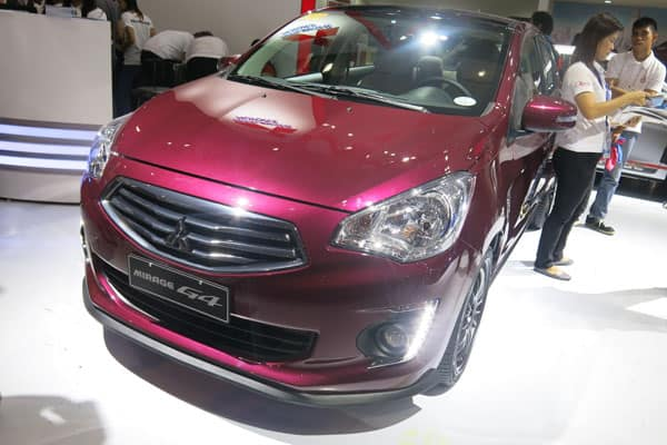 Mitsubishi Mirage G4 car model