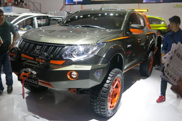 Mitsubishi Strada Pickup Truck model at PIMS 2016
