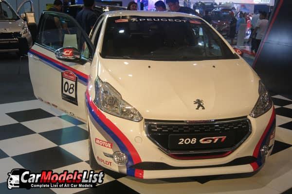Peugeot 208 GTI car model