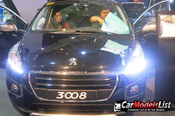 Peugeot 3008 car model