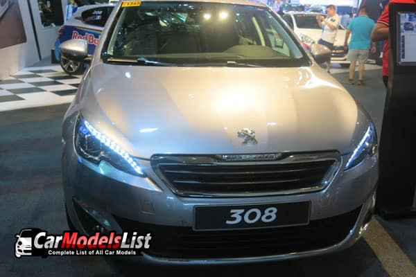 Peugeot 308 car model
