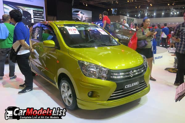 Suzuki Celerio Hatch model PIMS 2016