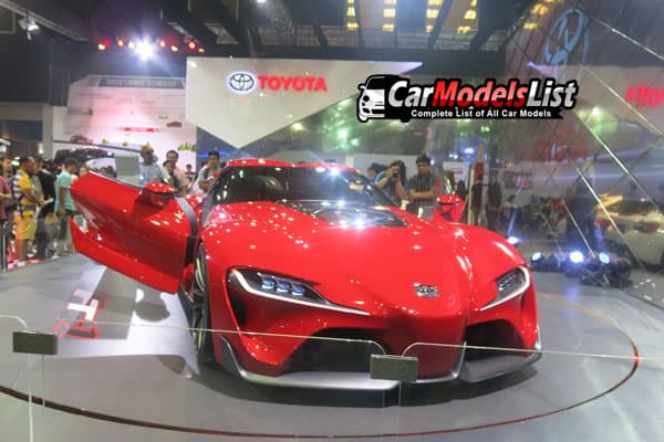 Toyota FT-1 car model