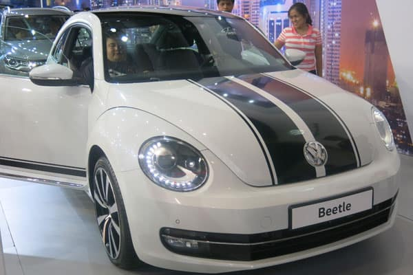 Volkswagen Beettle car model