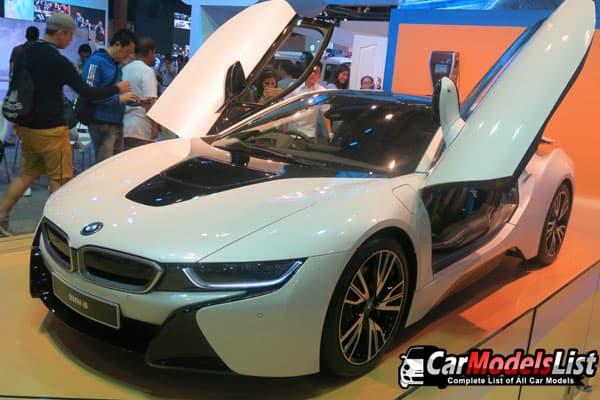 BMW i8 car model