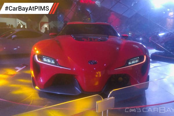 Toyota  FT-1 Concept Car PIMS 2016