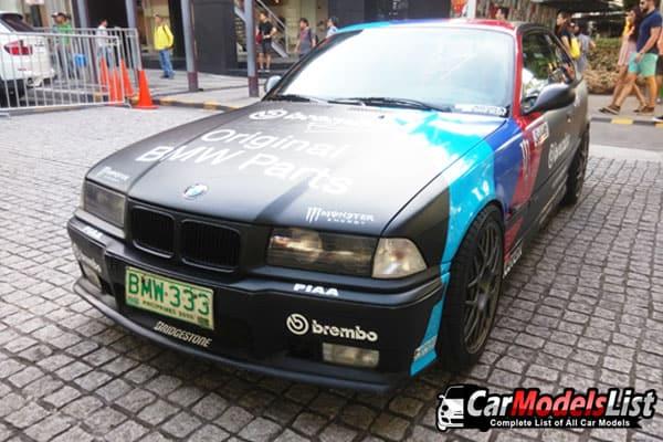 BMW car model