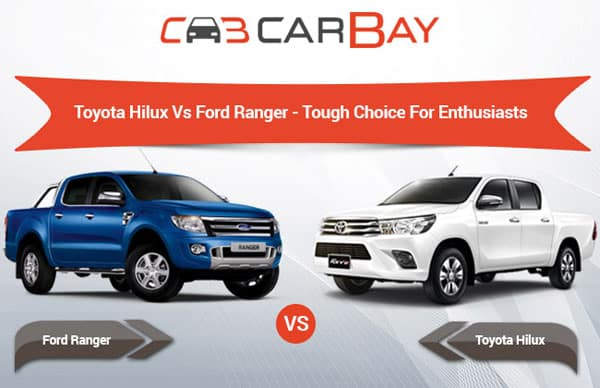 Toyota Hilux vs Ford Ranger - Tough Choice For Enthusiasts