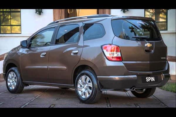Chevrolet Spin exterior