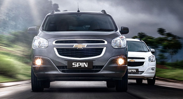 Chevrolet Spin Front View