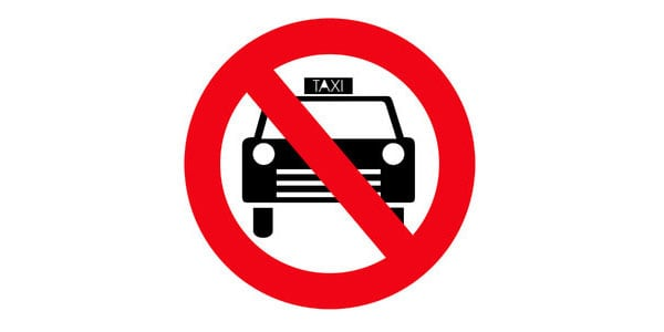 No Taxi Allowed