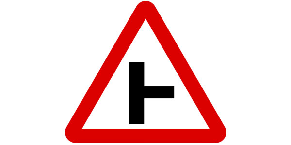 Road Right sign