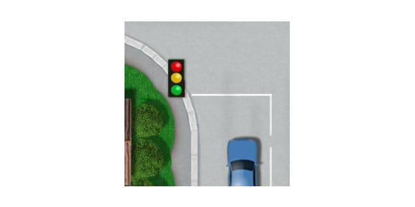 Stop Line at Traffic Lights