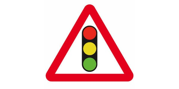Traffic Signal Ahead Sign