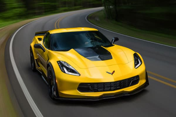 2017 chevrolet corvette car model