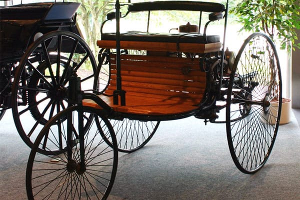 1886 Benz Patent-Motorwagen car model