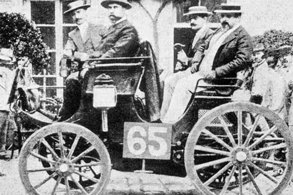 1894 Balzer car model
